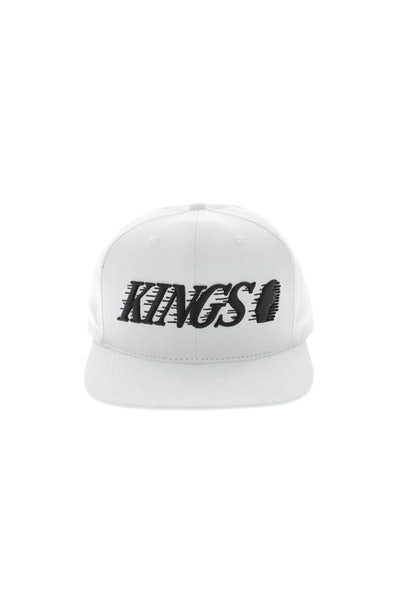Last Kings Dash Snapback White