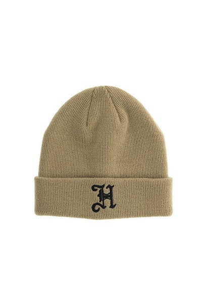 Lil Homme Olde H Toddler Beanie Stone