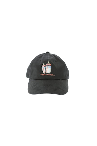 Goat Crew Junior Bottle Pop Toddler Snapback Black
