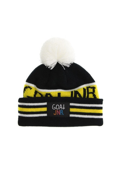 Goat Crew Junior Toddler Beanie Black/Yellow