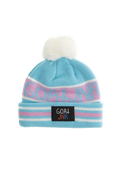 Goat Crew Junior Toddler Beanie Blue/Pink