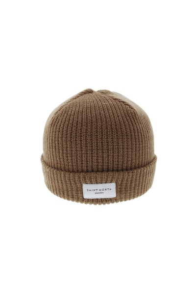 Saint Morta Staple Beanie Brown