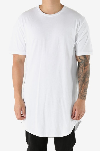 Detache Canis Scallop Tee Pure White