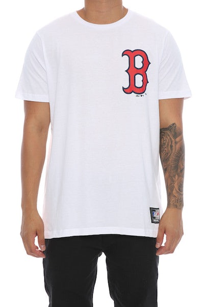 Majestic Athletic Thune Boston Tee White