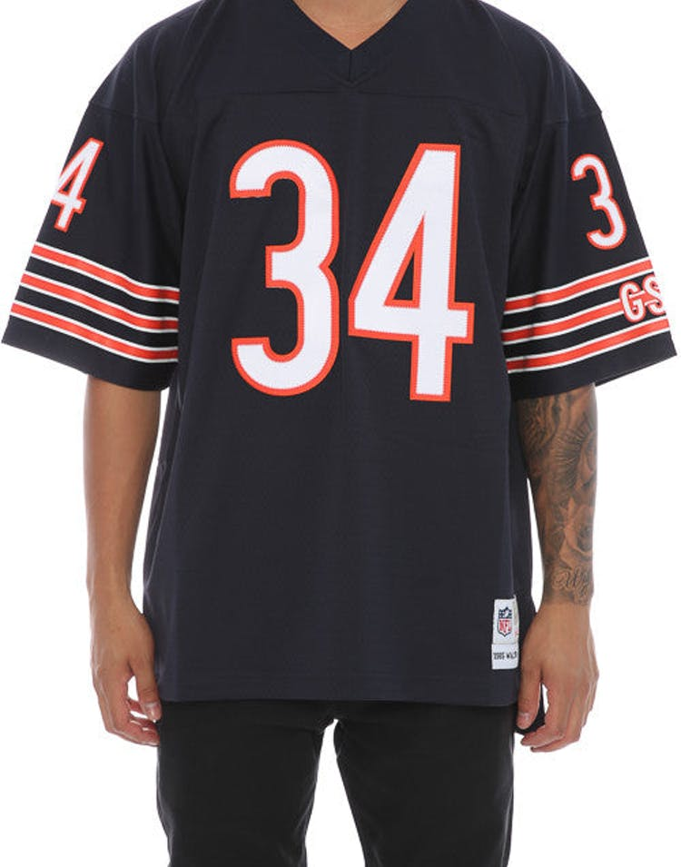 promo code 326e1 635df Mitchell & Ness NFL Payton Walter Replica Jersey Army Green/Navy