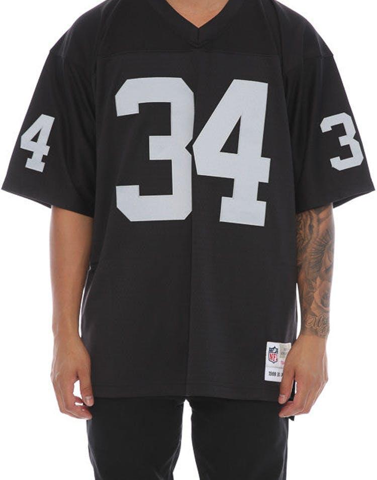 635b1250d Mitchell & Ness NFL Bo Jackson Replica Jersey Black – Culture Kings