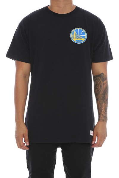 Mitchell & Ness Warriors Triple Double Tee Black