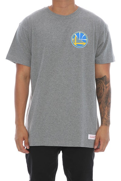Mitchell & Ness Warriors Triple Double Tee Grey