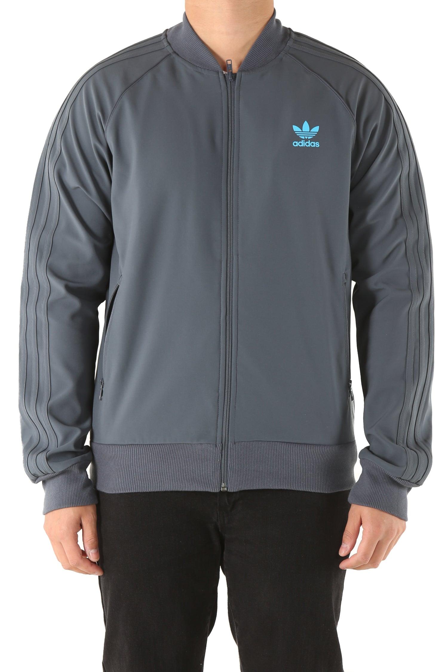 Adidas Superstar Track Jacket 2.0 SlateBlueLight Blue
