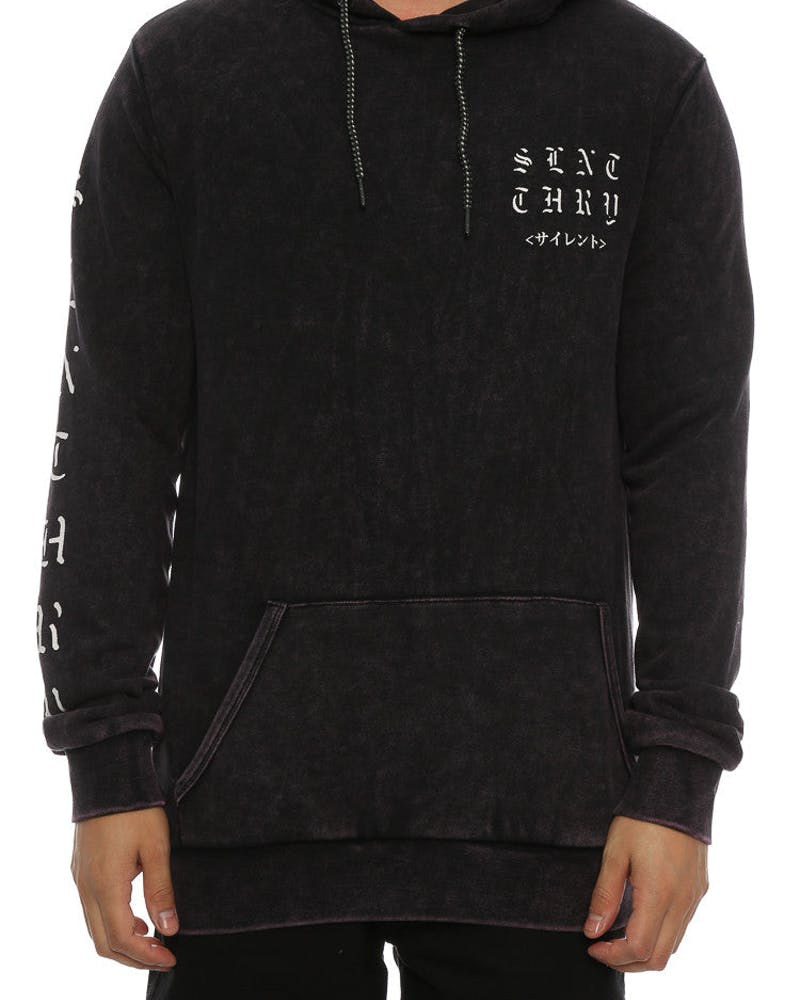 Silent Theory Paradise Hoody Burgundy