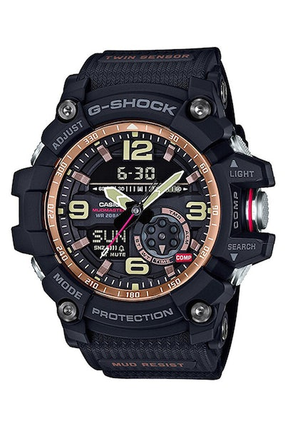 G-Shock GG1000RG Mudmaster Black/Rose Gold