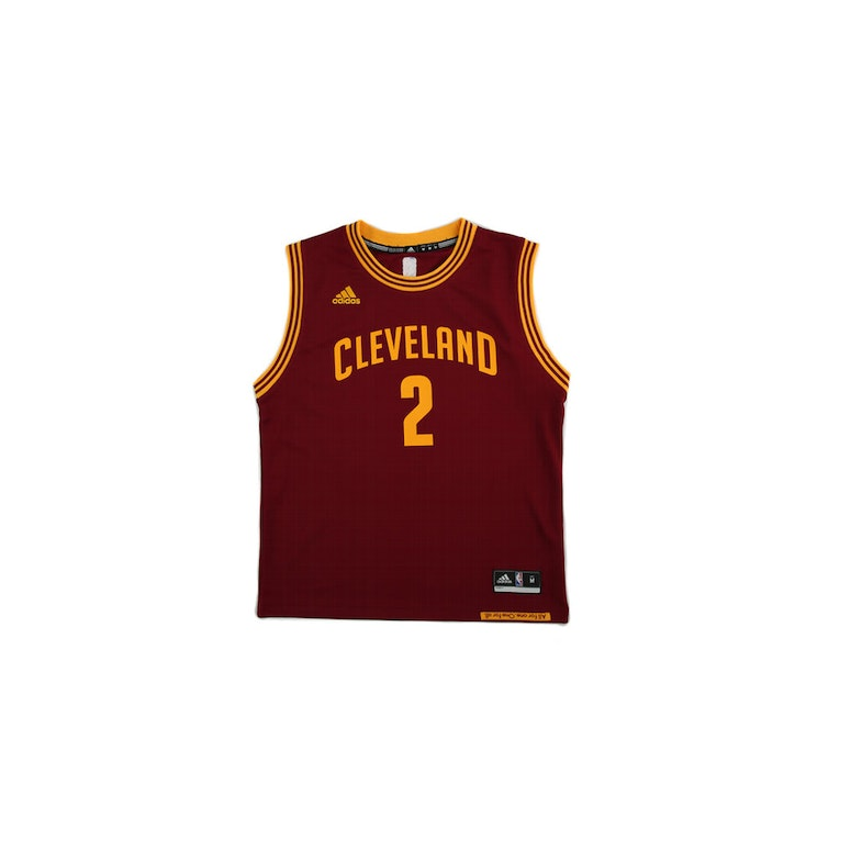 869475c85 ... Adidas Performance NBA Cleveland Cavaliers Kyrie Irving Youth Jersey 2  Burgundy ...