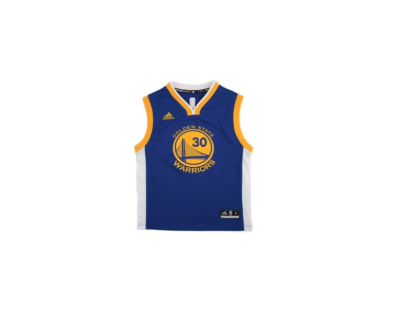 uk availability 42029 e47c6 Adidas Performance NBA Golden State Warriors Stephen Curry Youth Jersey  '30' Blue