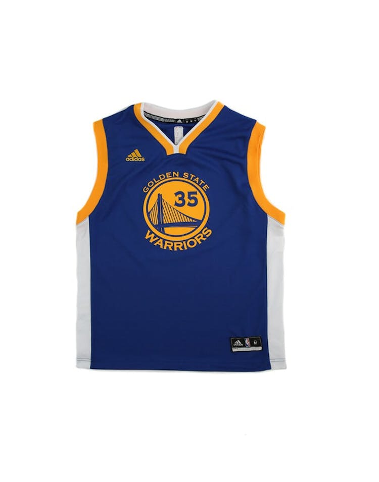 208973522a5 Adidas Performance NBA Golden State Warriors Kevin Durant Youth Jersey –  Culture Kings