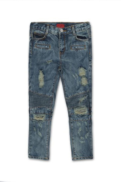 Haus of JR Clayton Biker Denim Blue