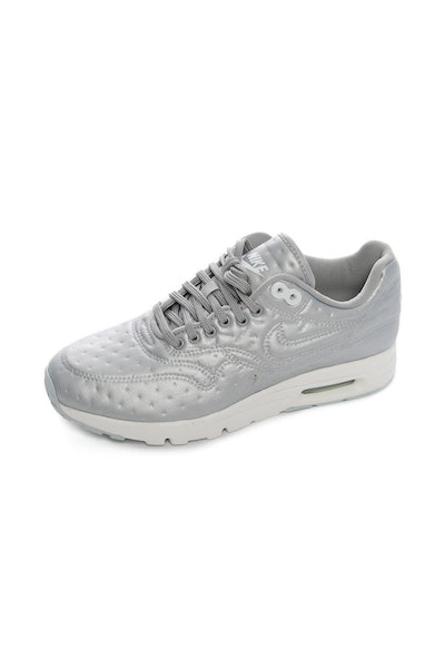 Nike Women's Air Max 1 Ultra Premium Jacquard Metallic Silver