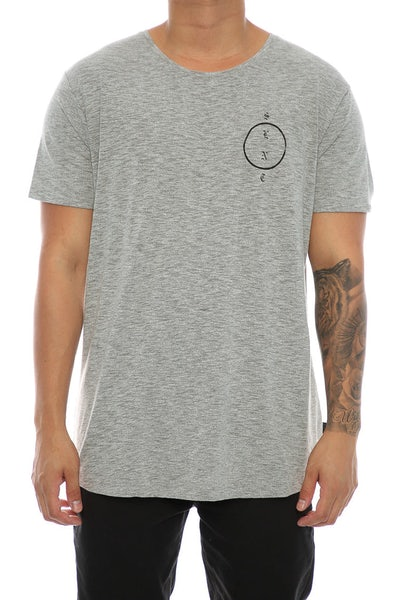 Silent Theory Vague Tee Grey Marle
