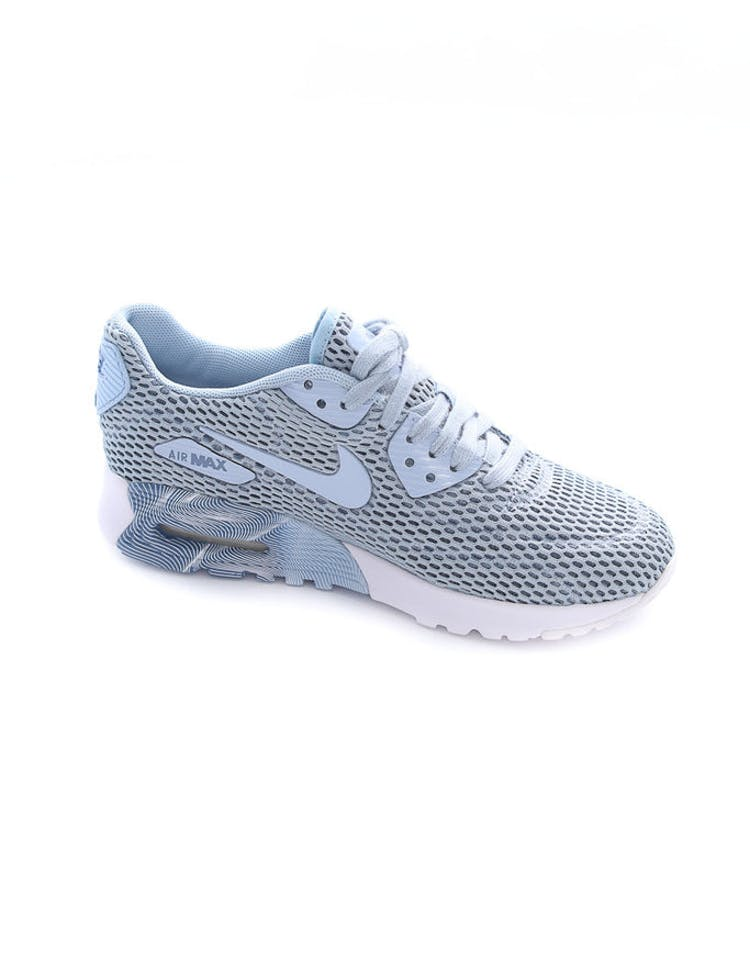 the latest 68838 5843d Nike Women's Air Max 90 Ultra BR Slate Blue/White