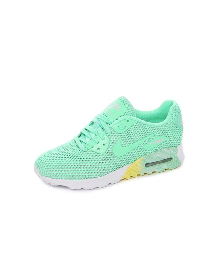 promo code 6fe68 978f7 Nike Women s Air Max 90 Ultra Breathe Mint White   725061 301 – Culture  Kings
