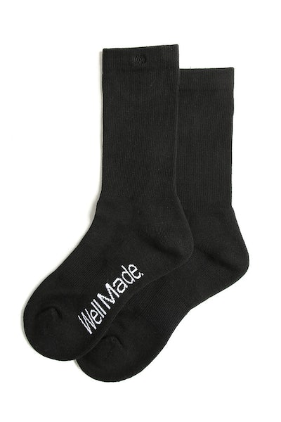 Well Made Daily Socks Black