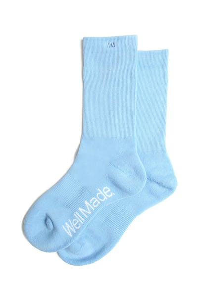 Well Made Daily Socks Blue
