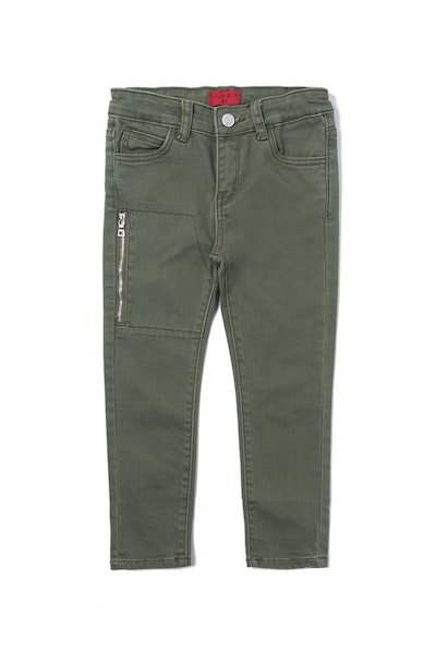 Haus of JR Play Denim Pants Olive