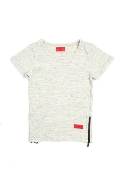 Haus of JR Preston 3 Extended Tee Grey Heather