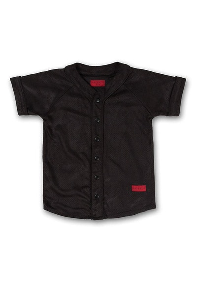 Haus of JR Beaumont Baseball Jersey Black