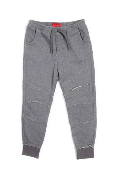 Haus of JR Noah Raw Sweatpants Grey
