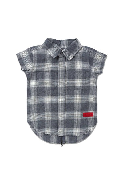 Haus of JR Marcus SS Flannel Grey