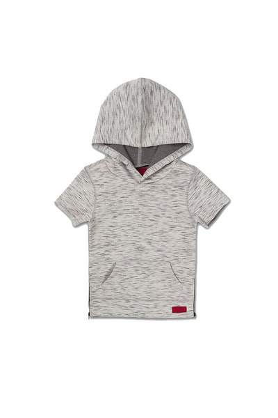 Haus of JR Brent Tech S/S Hoodie Grey