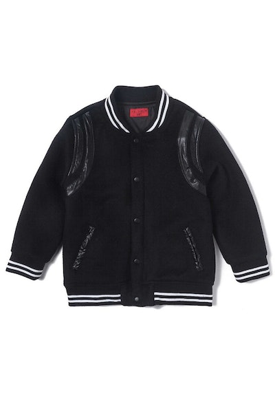 Haus of JR Teddy Varsity Black