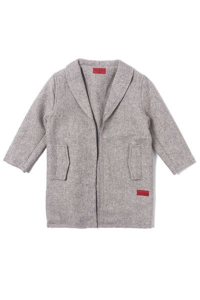 Haus of JR Drake Raw Edge Peacoat Grey
