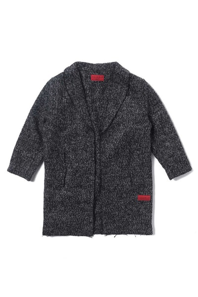 Haus of JR Drake Raw Edge Peacoat Speckle Black