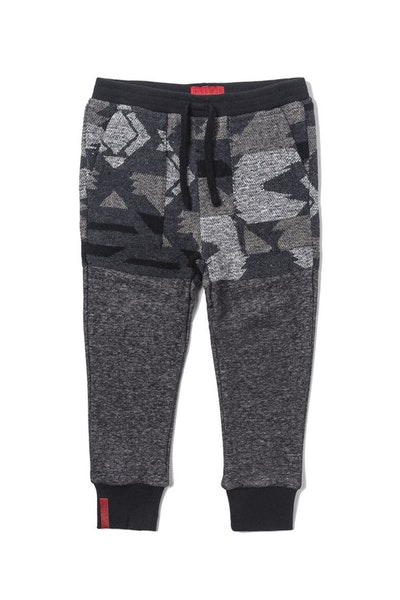 Haus of JR Tribal Sweatpants Black