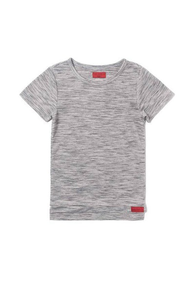 Haus of JR Andy Hi-Lo Tee Heather Grey