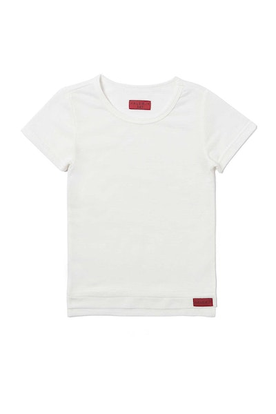 Haus of JR Andy Hi-Lo Tee White