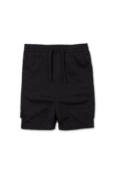 Haus of JR Beaumont Mesh Short Black