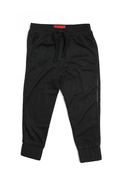 Haus of JR Mesh Joey Jogger Black