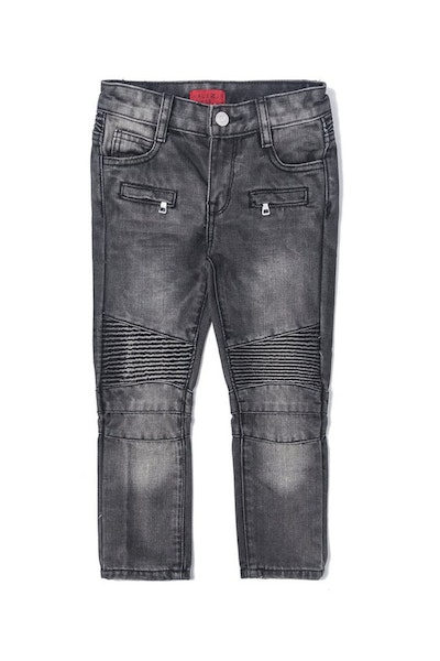 Haus of JR Clayton Biker Denim Dark Grey