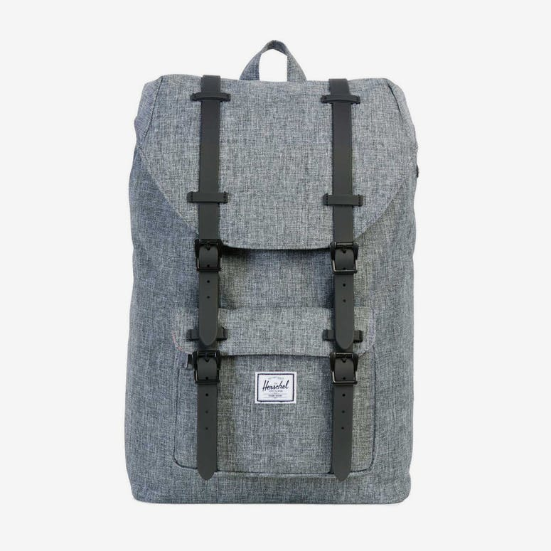06aac18bc8 HERSCHEL SUPPLY CO LITTLE AMERICA MID-VOLUME RUBBER Charcoal Black –  Culture Kings