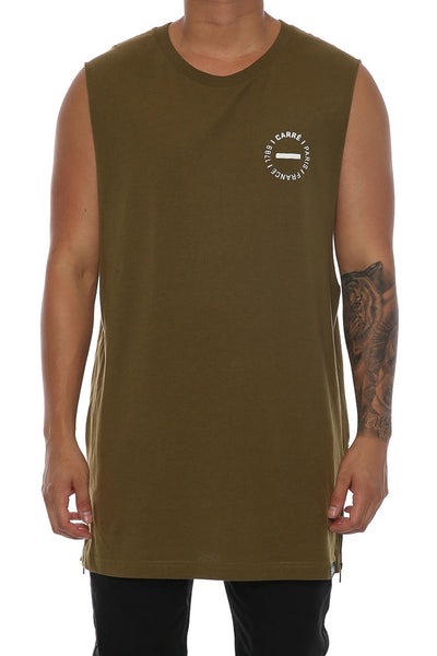 Carré Carousel Capone Muscle Tee Olive