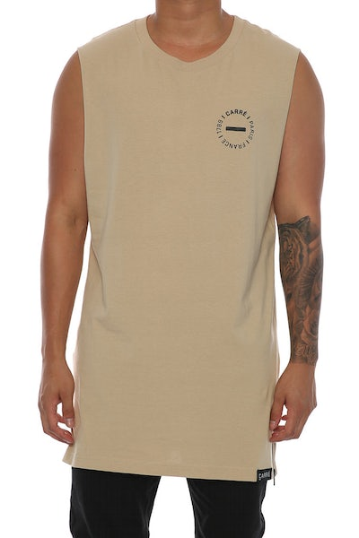 Carré Carousel Capone Muscle Tee Stone
