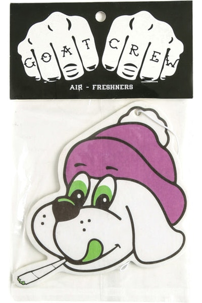 Goat Crew Kush Puppie Air Freshener Multi-coloured (Citrus Scent)