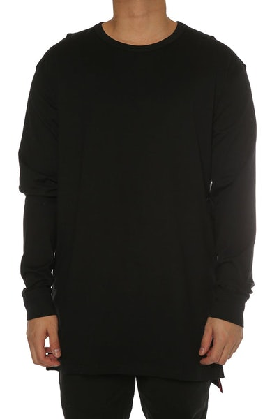 Well Made Magic Long Sleeve Tall Tee Black