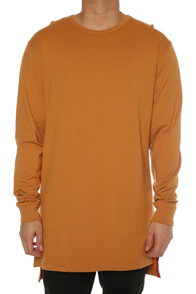 Well Made Magic Long Sleeve Tall Tee Camel
