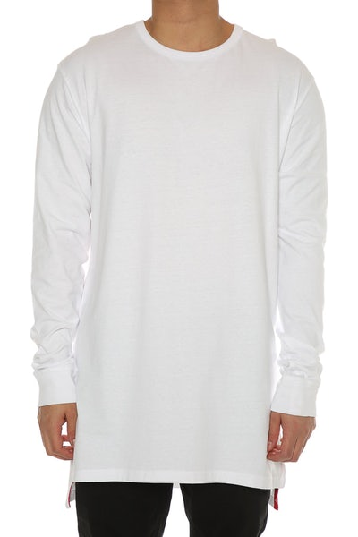 Well Made Magic Long Sleeve Tall Tee White