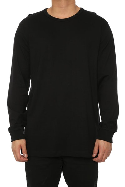 Well Made MJ Basic Long Sleeve Tee Black