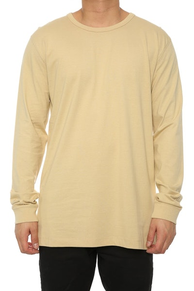 Well Made MJ Basic Long Sleeve Tee Bone