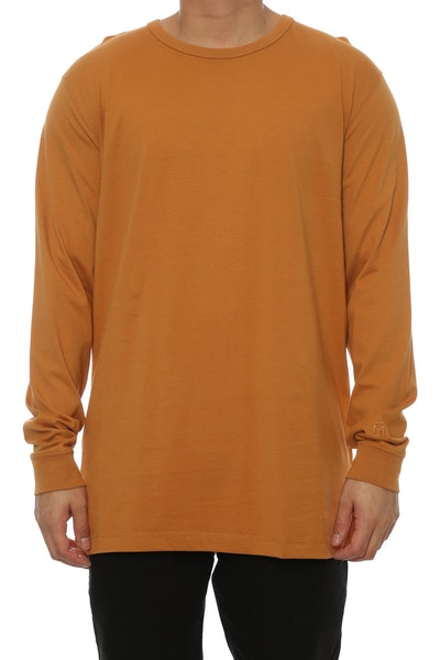 Well Made MJ Basic Long Sleeve Tee Camel